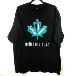 Other - Mumford & Sons T Shirt XXL Double Sided 2015 Tour